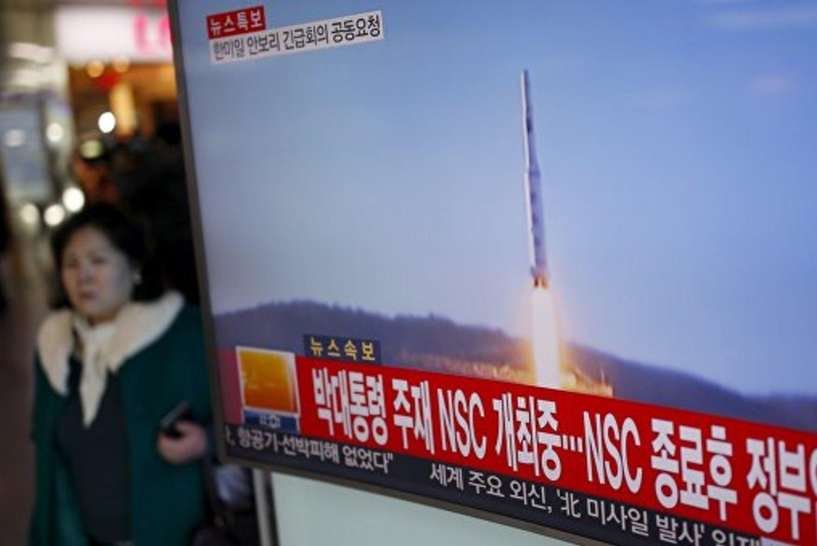 В КНДР прокомментировали пуск баллистических ракет