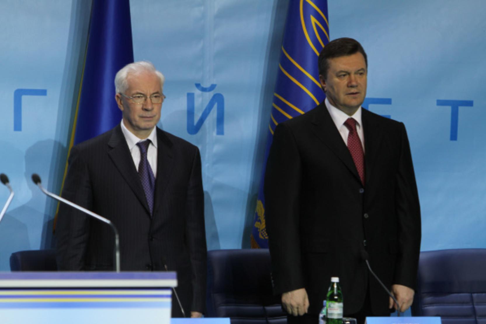 Суд на Украине заочно арестовал экс-премьера Азарова