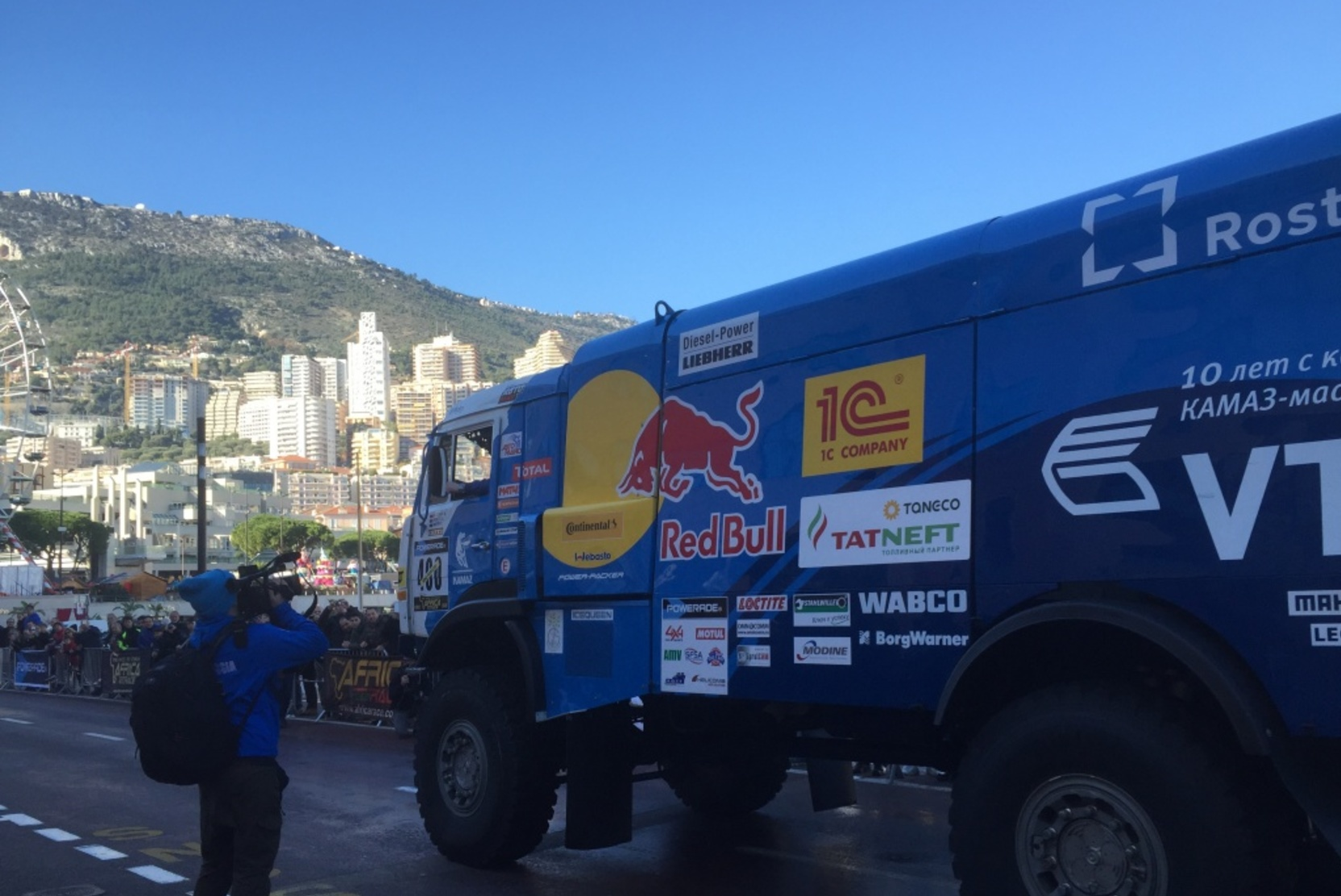 Россиянин Сотников выиграл второй этап ралли Дакар 2021 в зачёте грузовиков