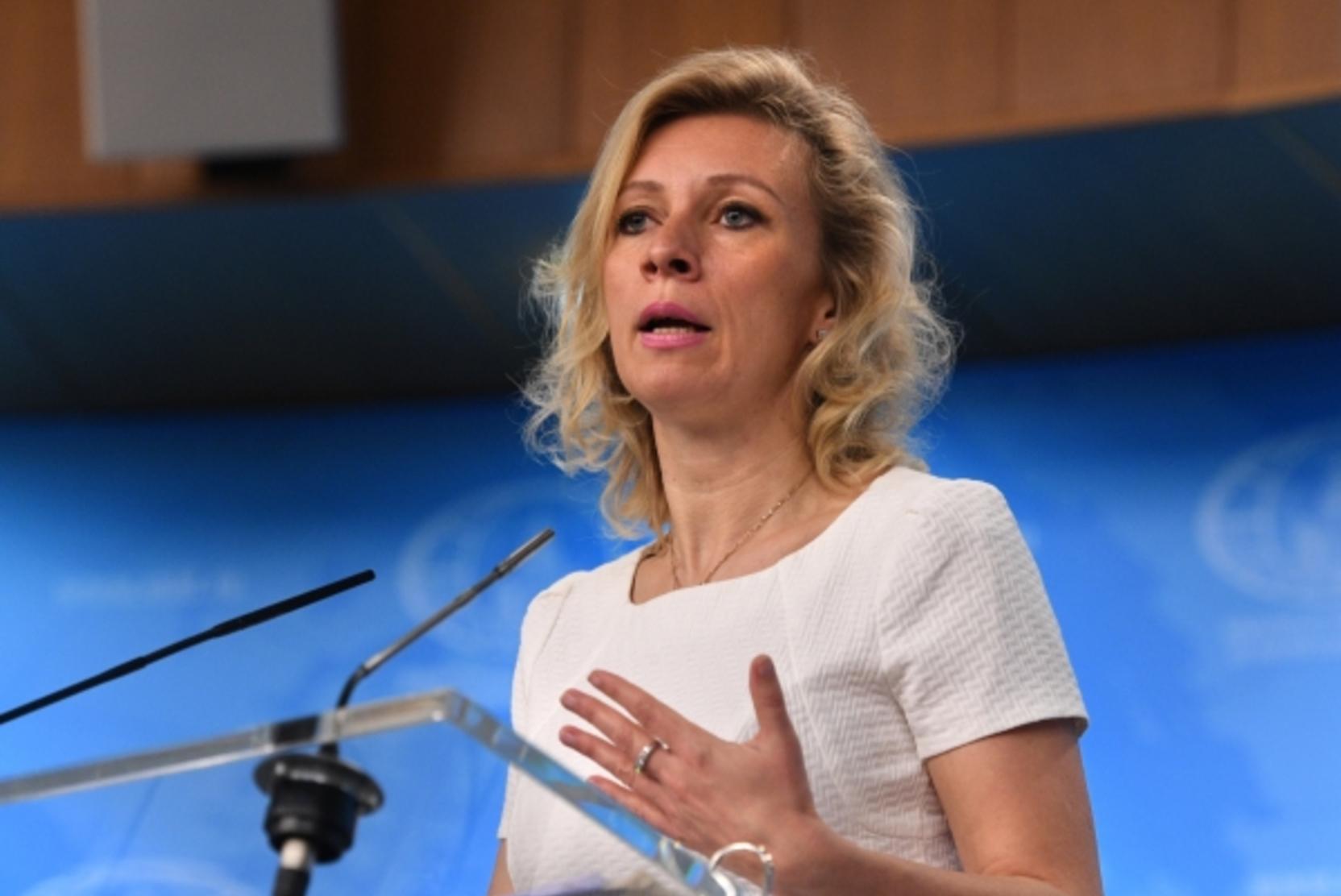 Захарова прокомментировала устроенную в Грузии акцию против Познера