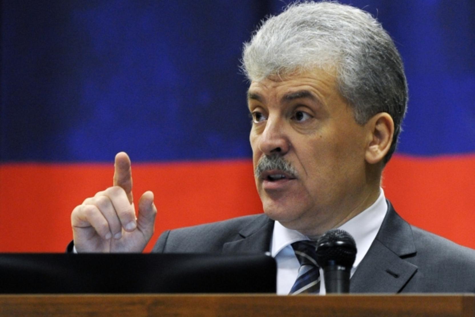 Грудинин прокомментировал отказ в регистрации кандидатом в депутаты Госдумы