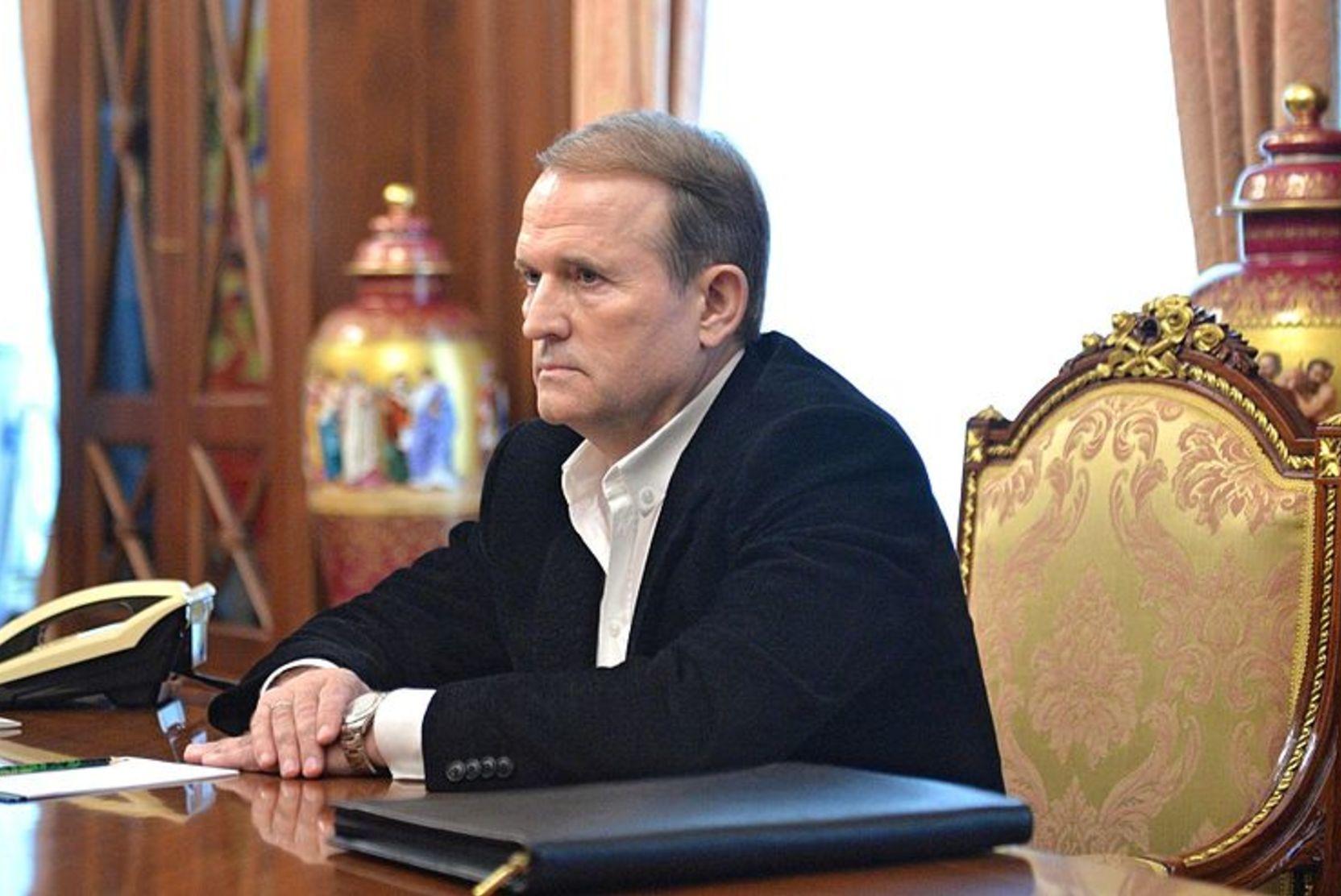 Депутат: Киев запретил Медведчуку ездить в Москву