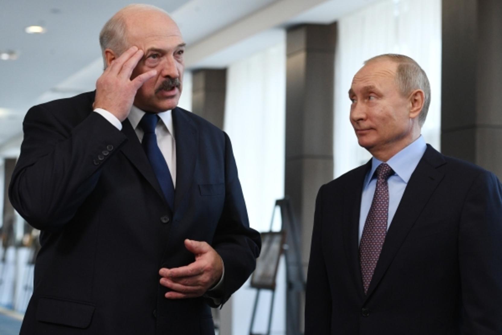 Переговоры Путина и Лукашенко продлились более шести часов