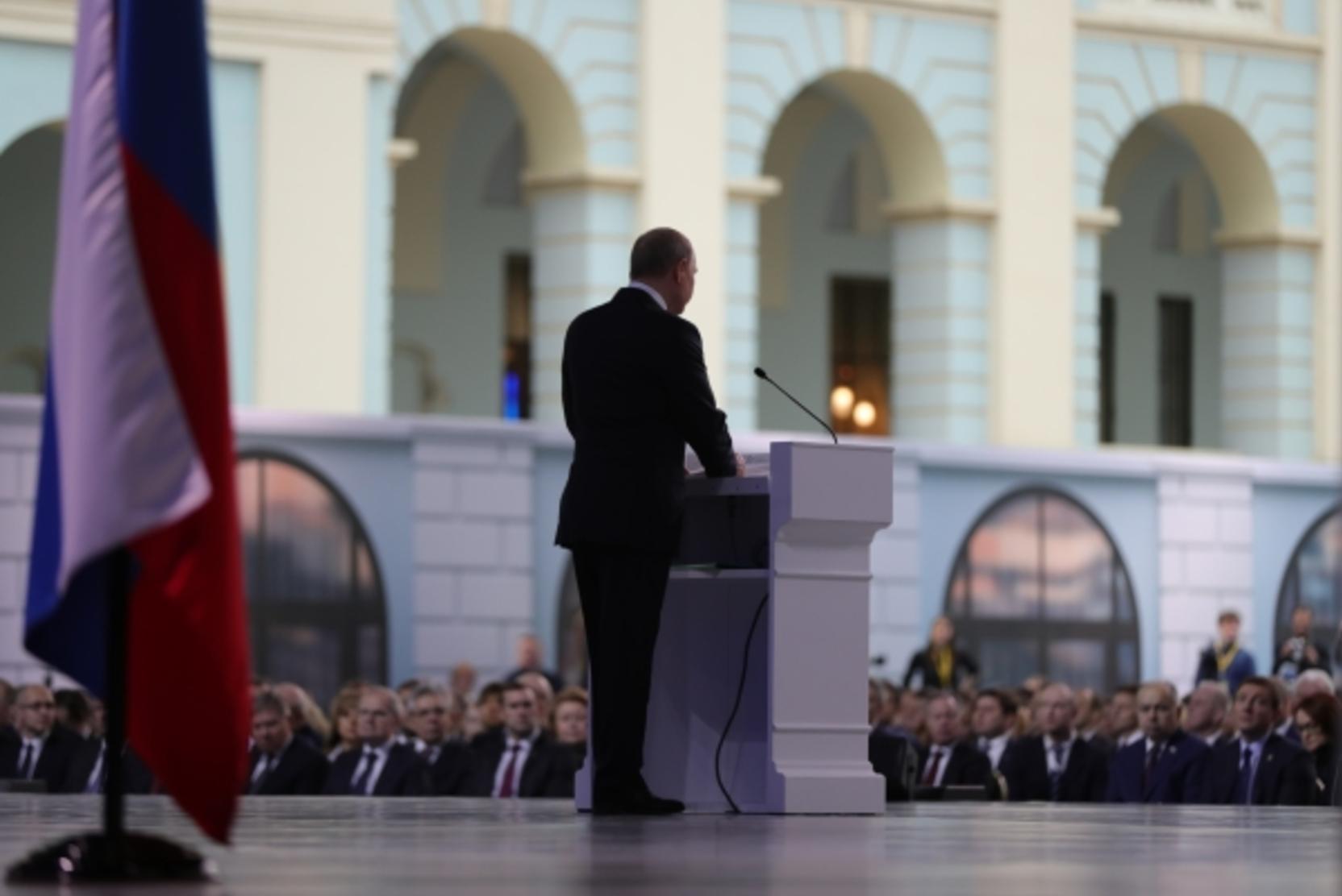 Путин проведет совещание по исполнению послания 2020 года