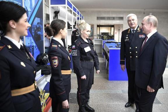 работа в полиции владимир для девушек