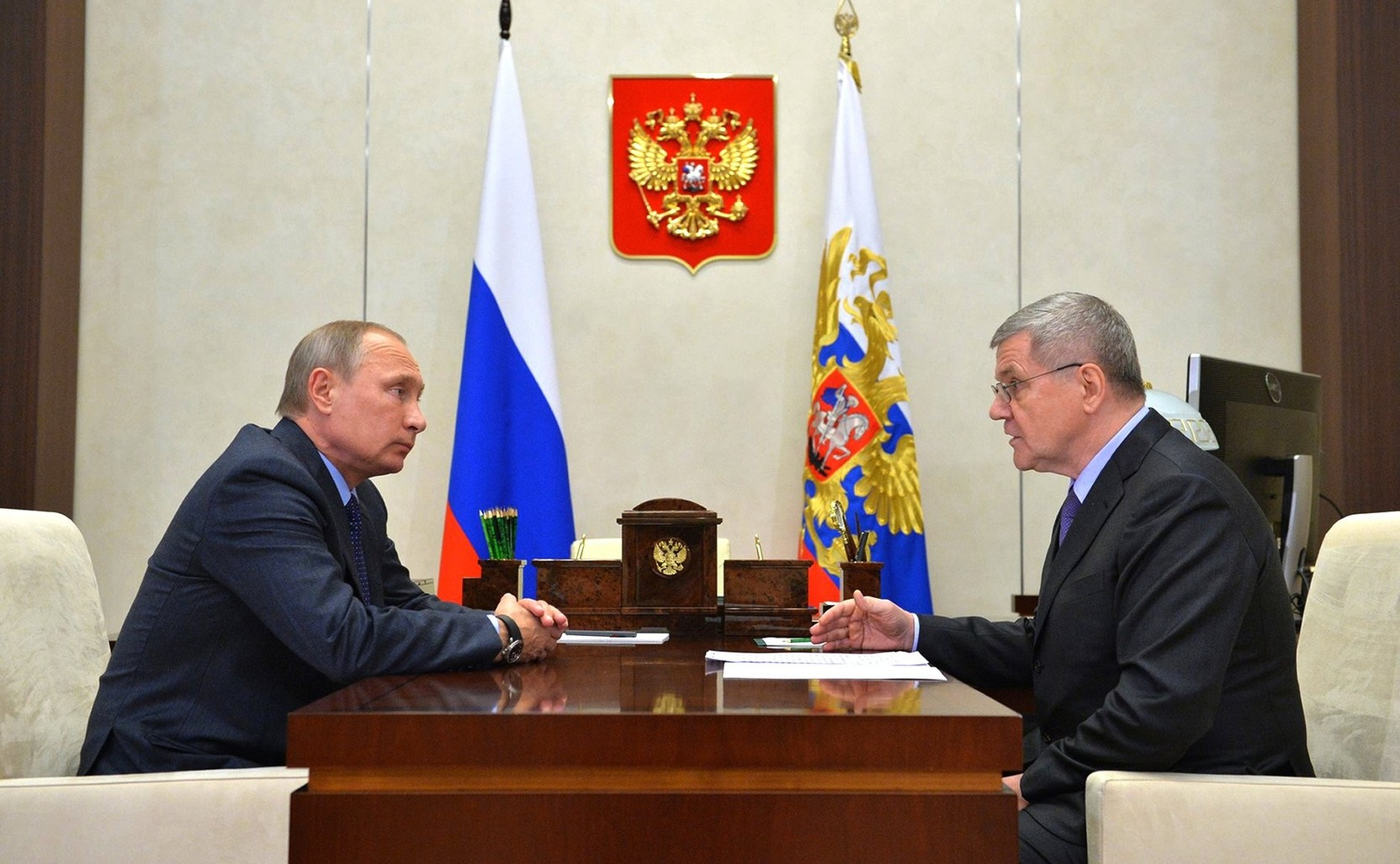 Путин продлил полпреду в СКФО Чайке срок госслужбы