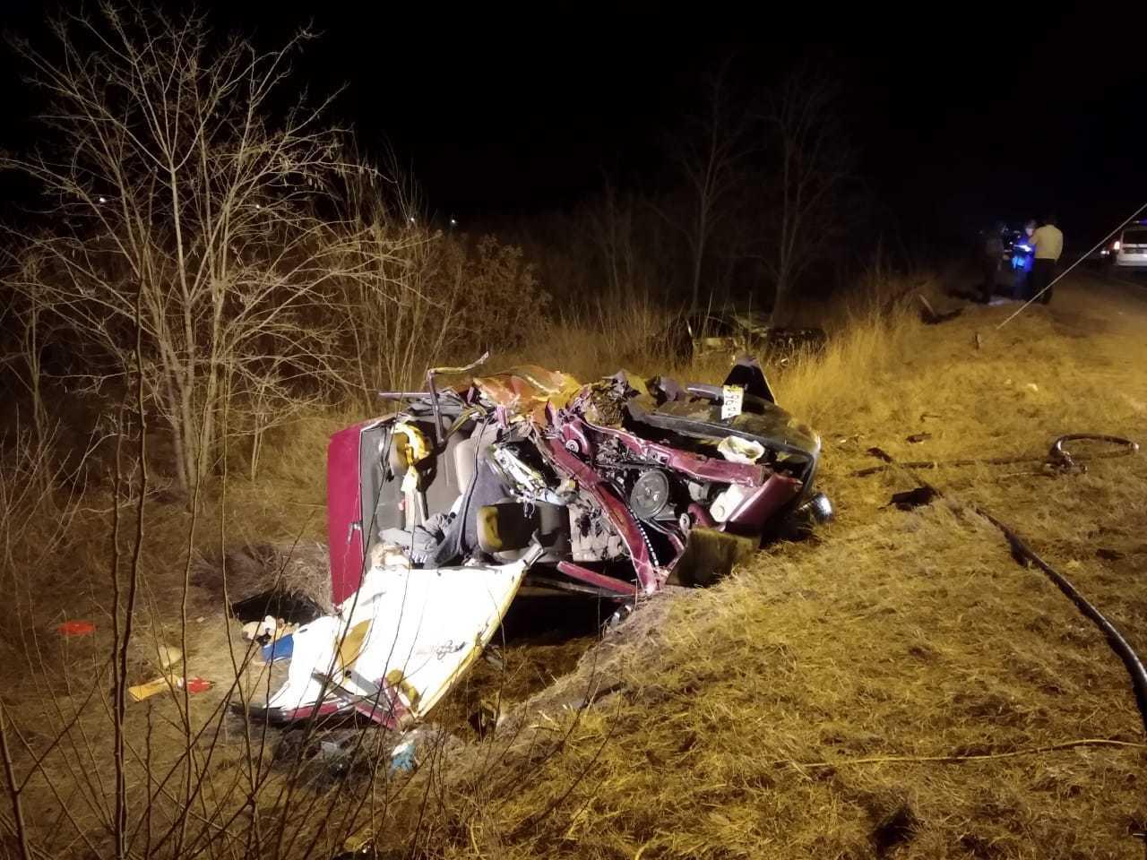 Восемь машин столкнулись на трассе Кавказ в Ставропольском крае