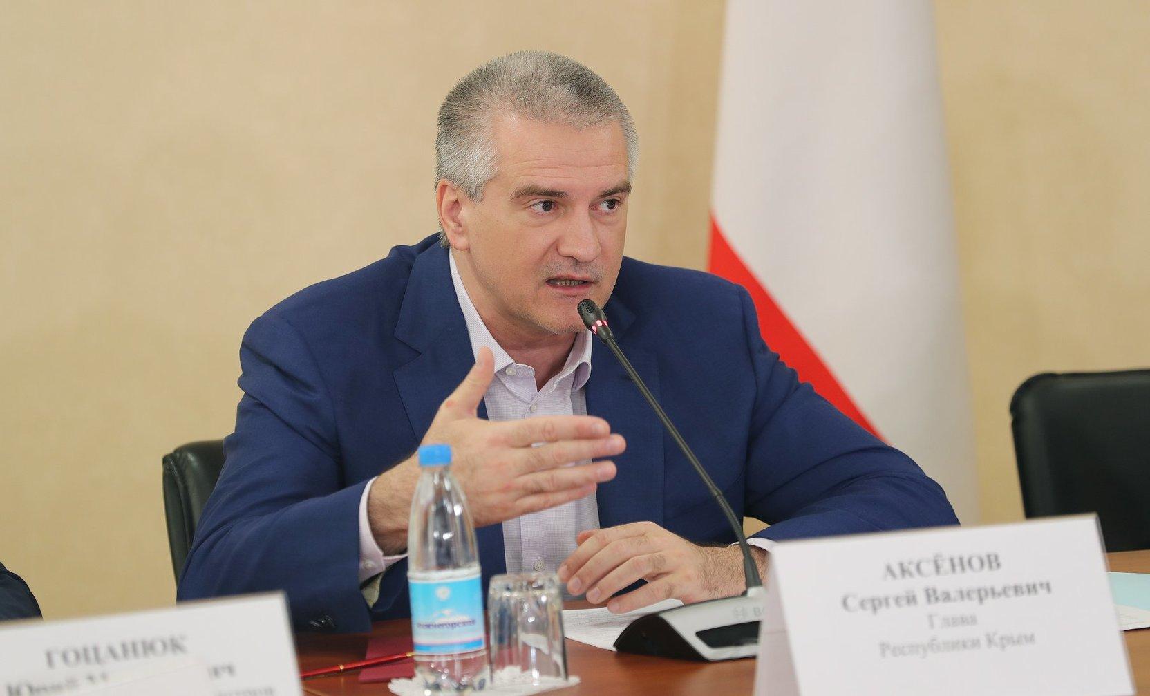 Аксенов обратился к Путину с просьбой упростить порядок выплат пострадавшим от подтоплений в Крыму