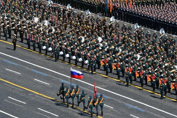 В московском Параде Победы примут участие более 12 тысяч военных