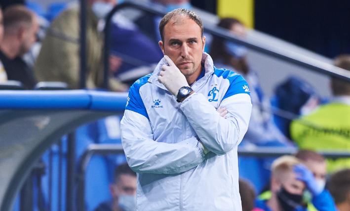 Главный тренер «Динамо» Новиков уволился после провала в Лиге Европы