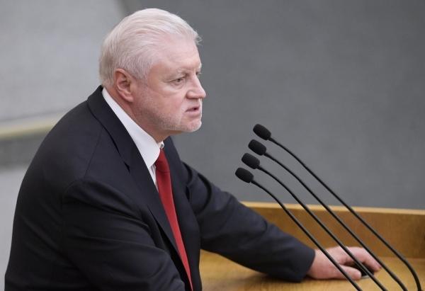 Миронов призвал вернуть смертную казнь для убийц детей