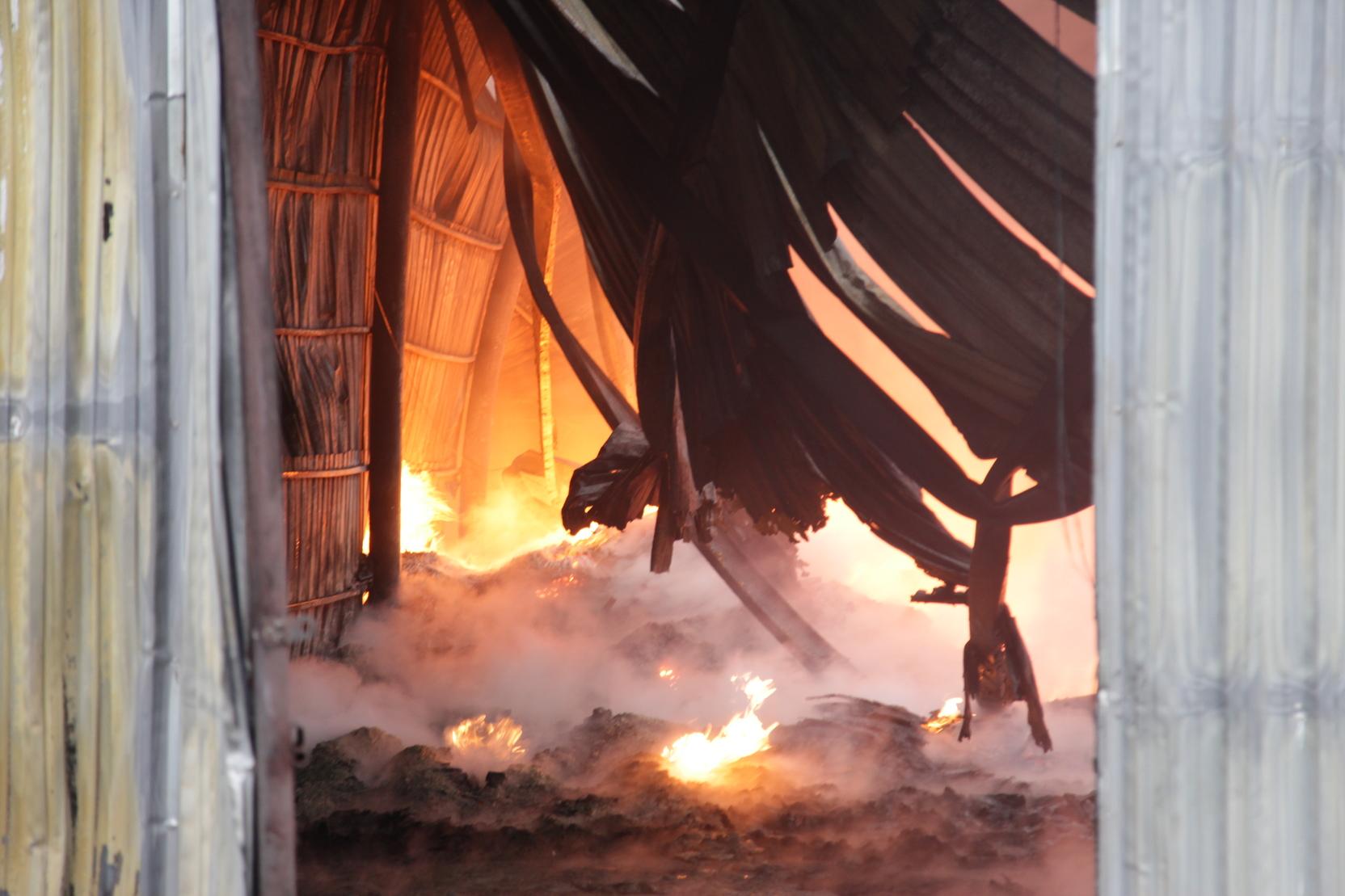 При пожаре в одном из домов Москвы погибли два человека