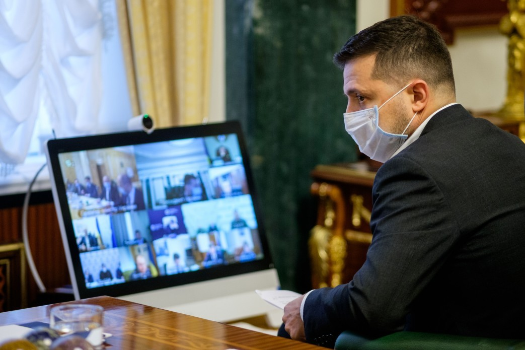 Зеленский заявил, что в Европе идёт война из-за Крыма
