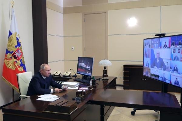 Что скажет Путин Названы три темы послания к Федеральному собранию
