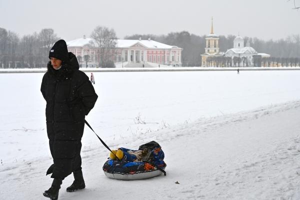 В Московской области объявлен оранжевый уровень опасности погоды из-за морозов