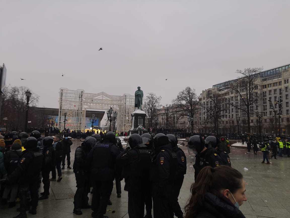 Совфед РФ одобрил увеличение штрафов за нарушения на митингах