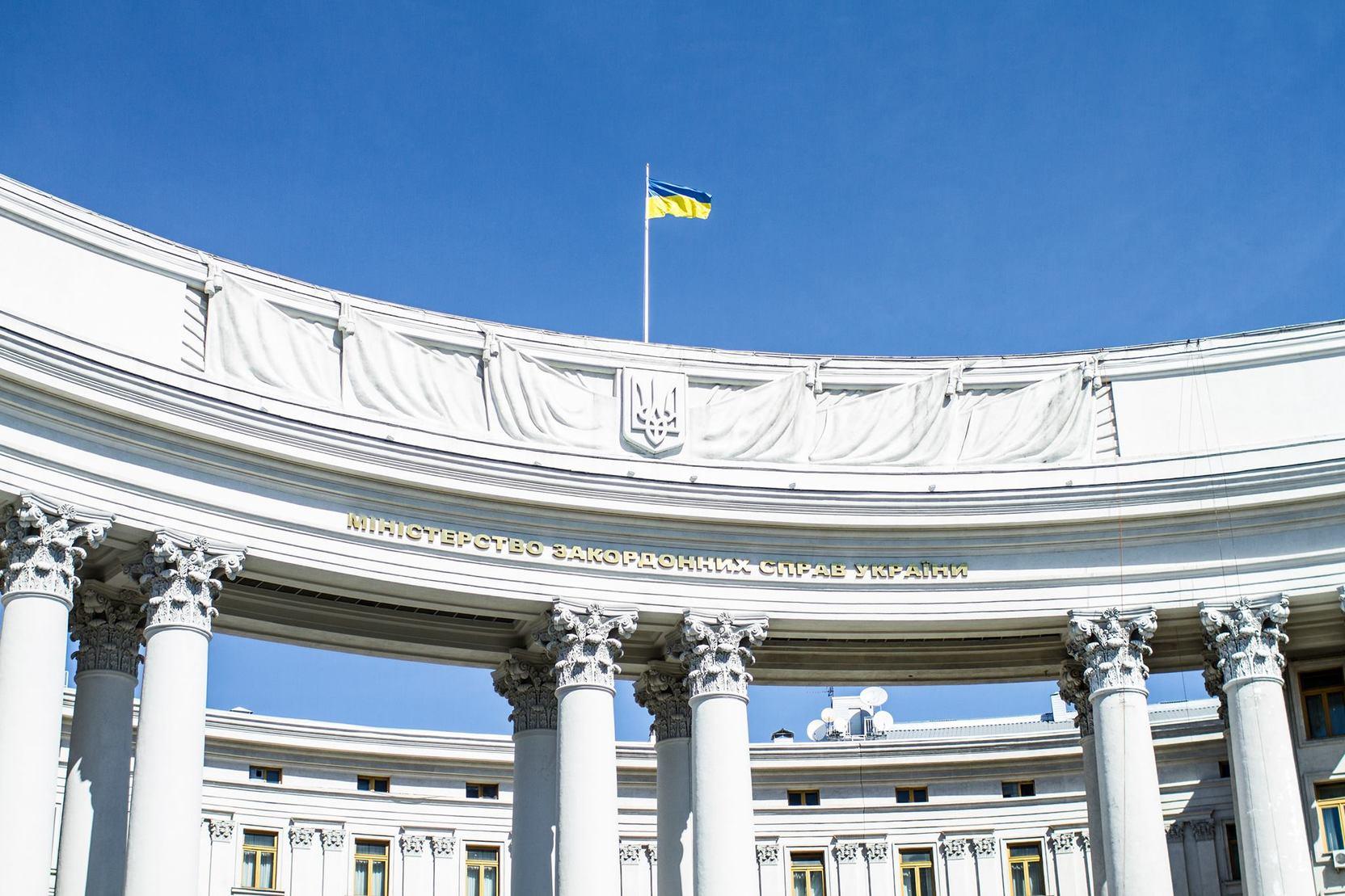МИД Украины: На встрече Путина с Зеленским должны обсуждаться Крым и Донбасс