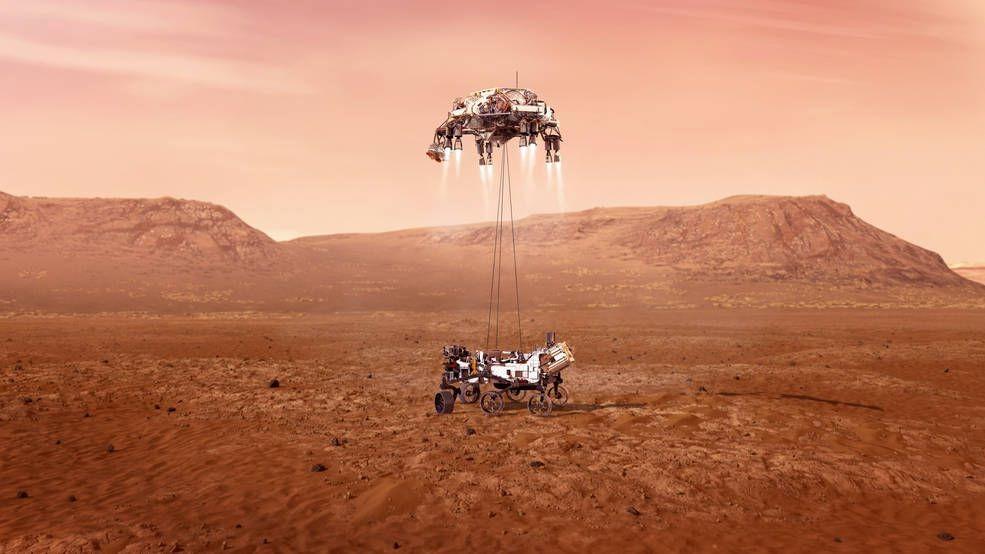 NASA: в ближайшие дни состоится первый полет вертолета на Марсе