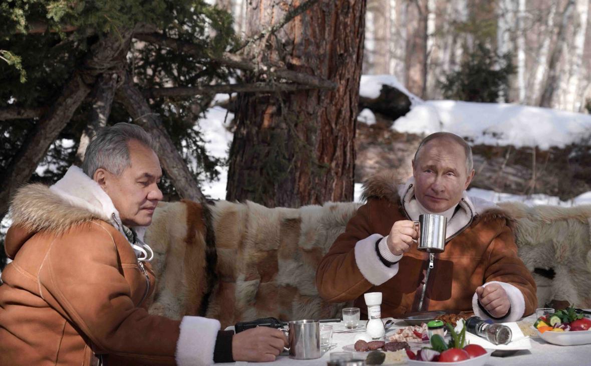 Шойгу отвез Путина на реку своих детских воспоминаний