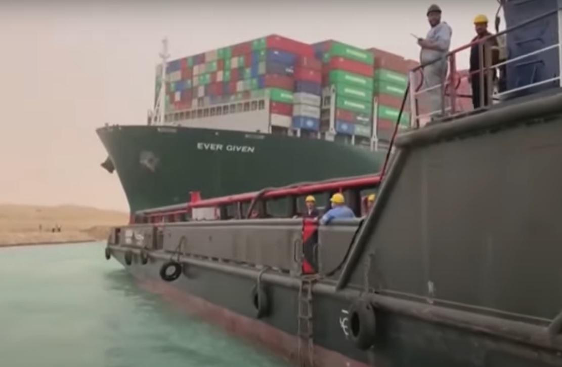 Россия готова оказать помощь в разблокировке Суэцкого канала