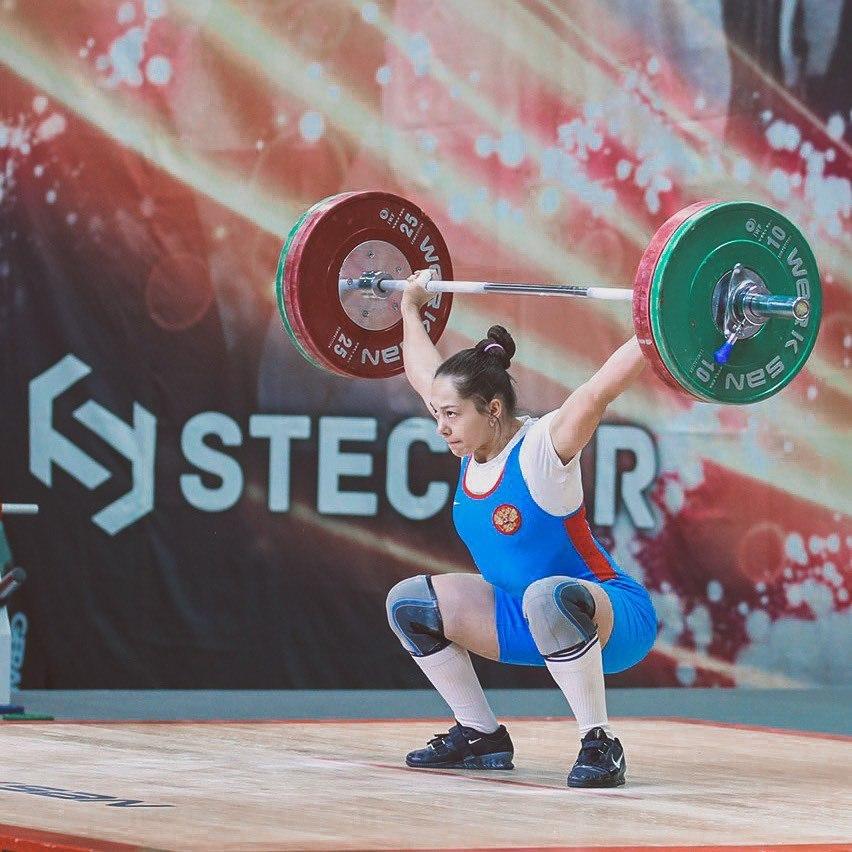 Россиянка Ольга Тё завоевала серебро на Чемпионате Европы по тяжёлой атлетике