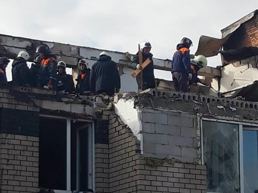 Пожар в жилом доме после взрыва газа потушен в Нижегородской области