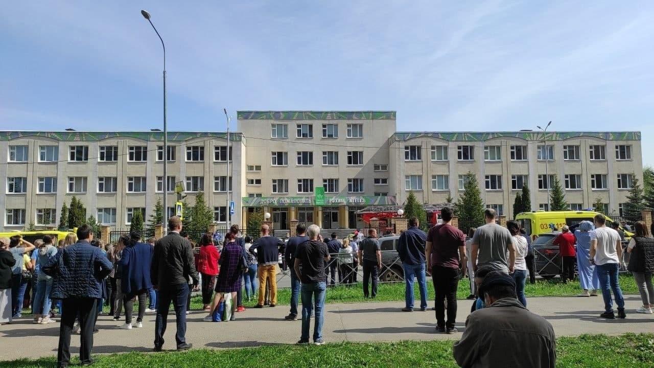 Правительство Татарстана заявило о 8 погибших при стрельбе в школе в Казани
