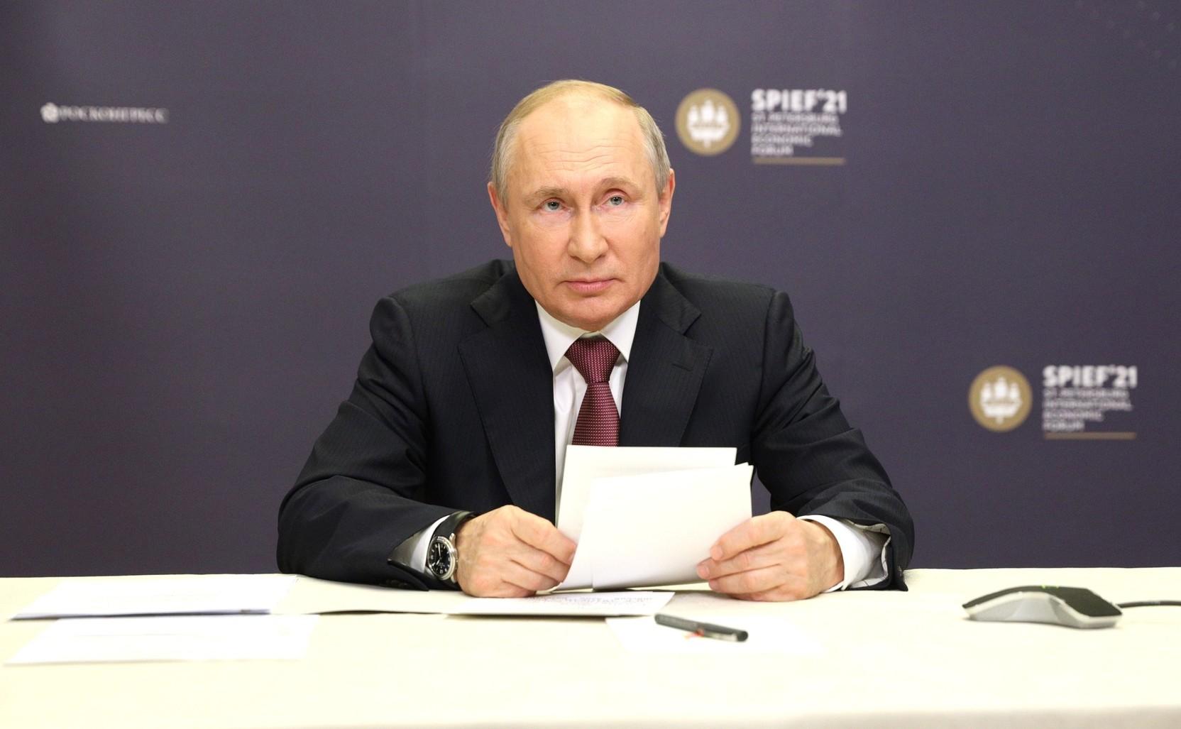 Путин заявил о росте товарооборота России и Китая