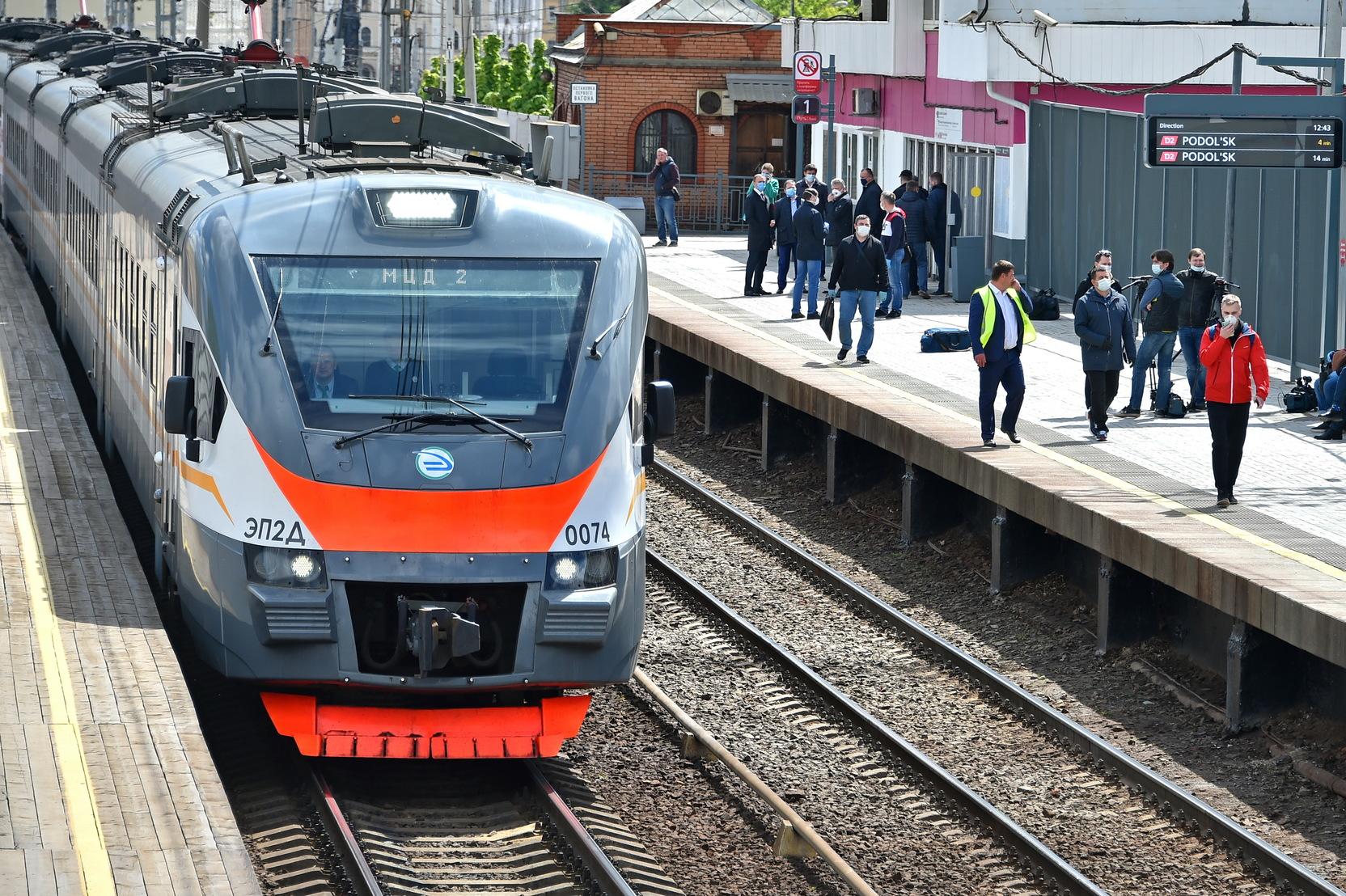 Завершен первый этап реконструкции участка МЖД Каланчевская  Курская