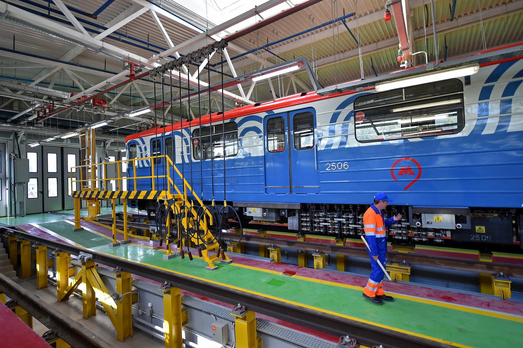 Заммэра Бочкарёв рассказал о темпах реконструкции электродепо Нижегородское в Москве
