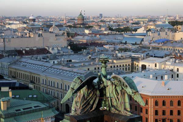 Санкт-Петербург побил восьмой температурный рекорд с начала лета