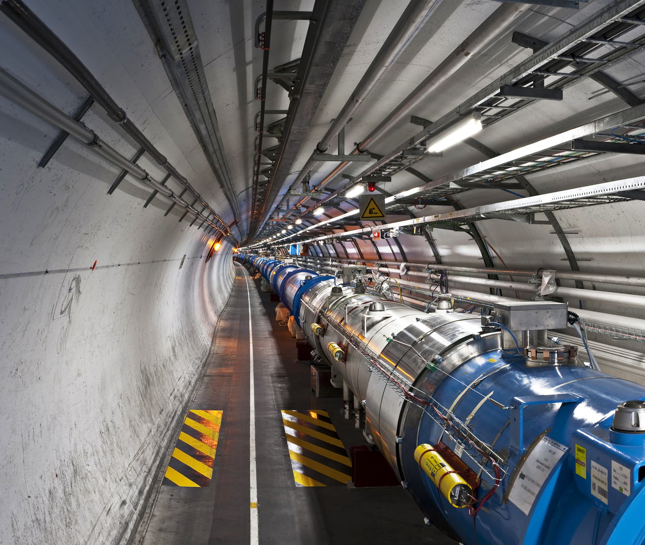 Новая форма материи открыта с помощью Большого адронного коллайдера