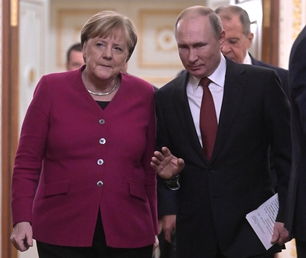 Путин назвал Германию одним из главных партнеров России