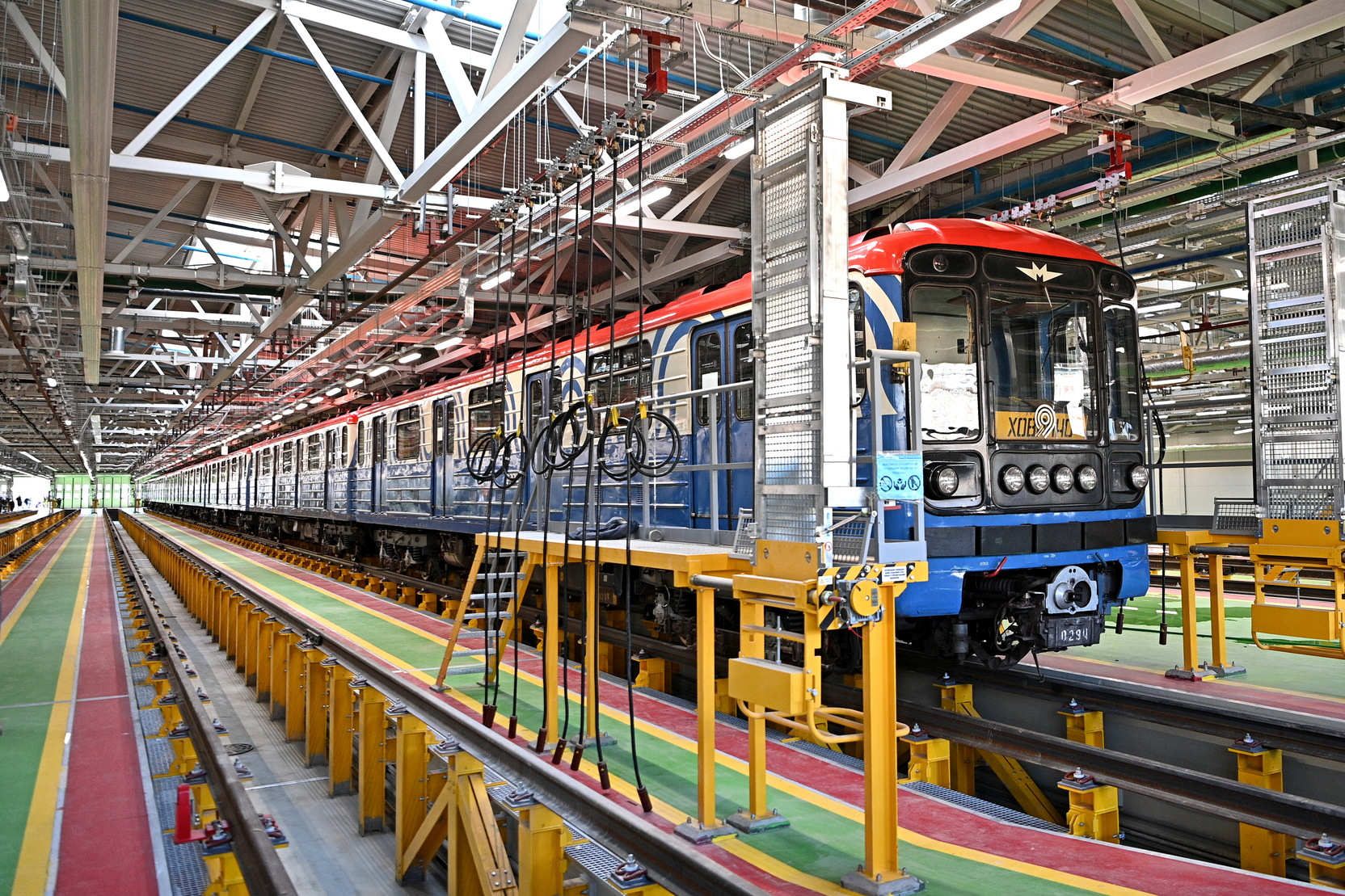 Андрей Бочкарёв: Завершается подготовка площадки для строительства депо Аминьевское московского метро
