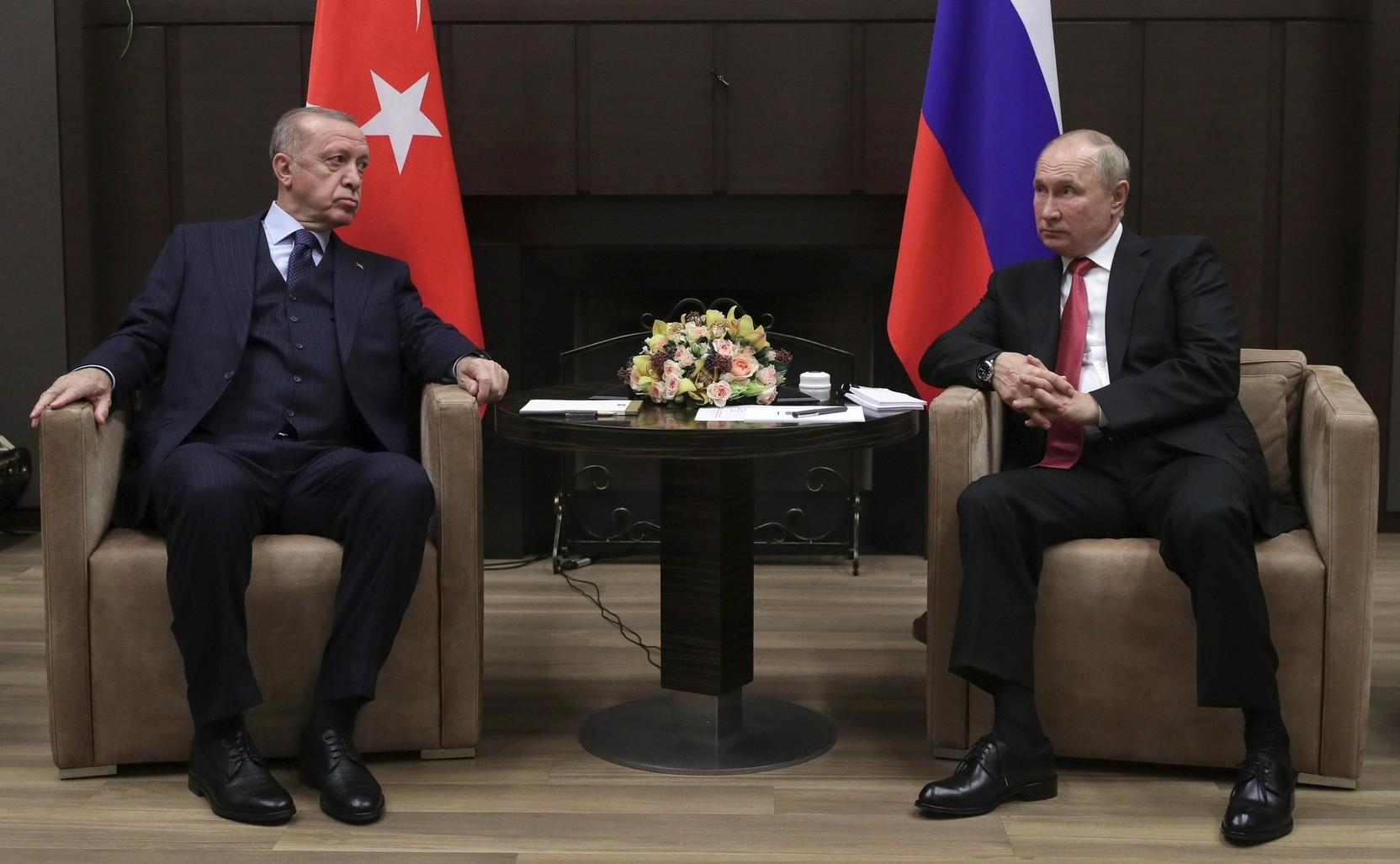 Эрдоган оценил переговоры с Путиным