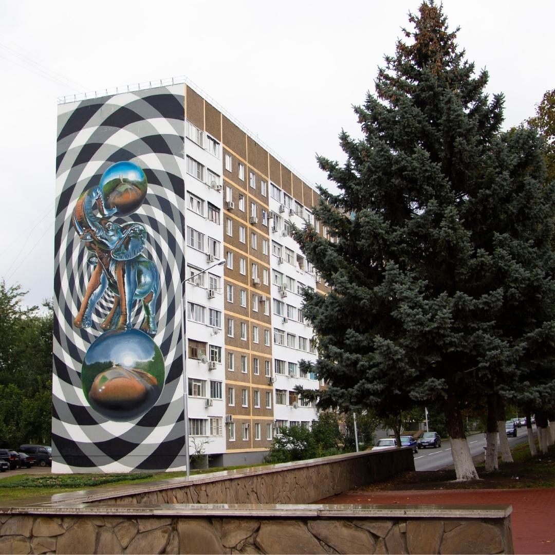 Международный фестиваль граффити Культурный код завершился в Ставрополье