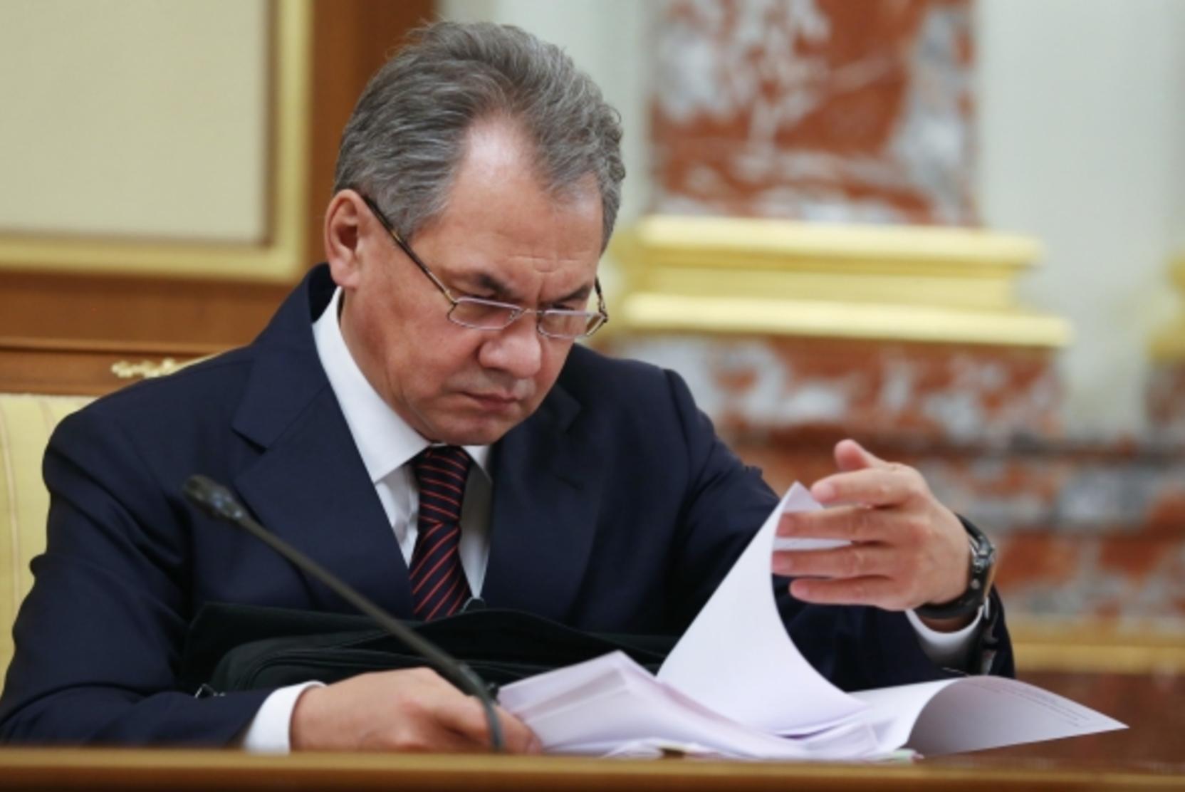 Шойгу заявил, что Минобороны могло потерять триллионы рублей из-за коронавируса