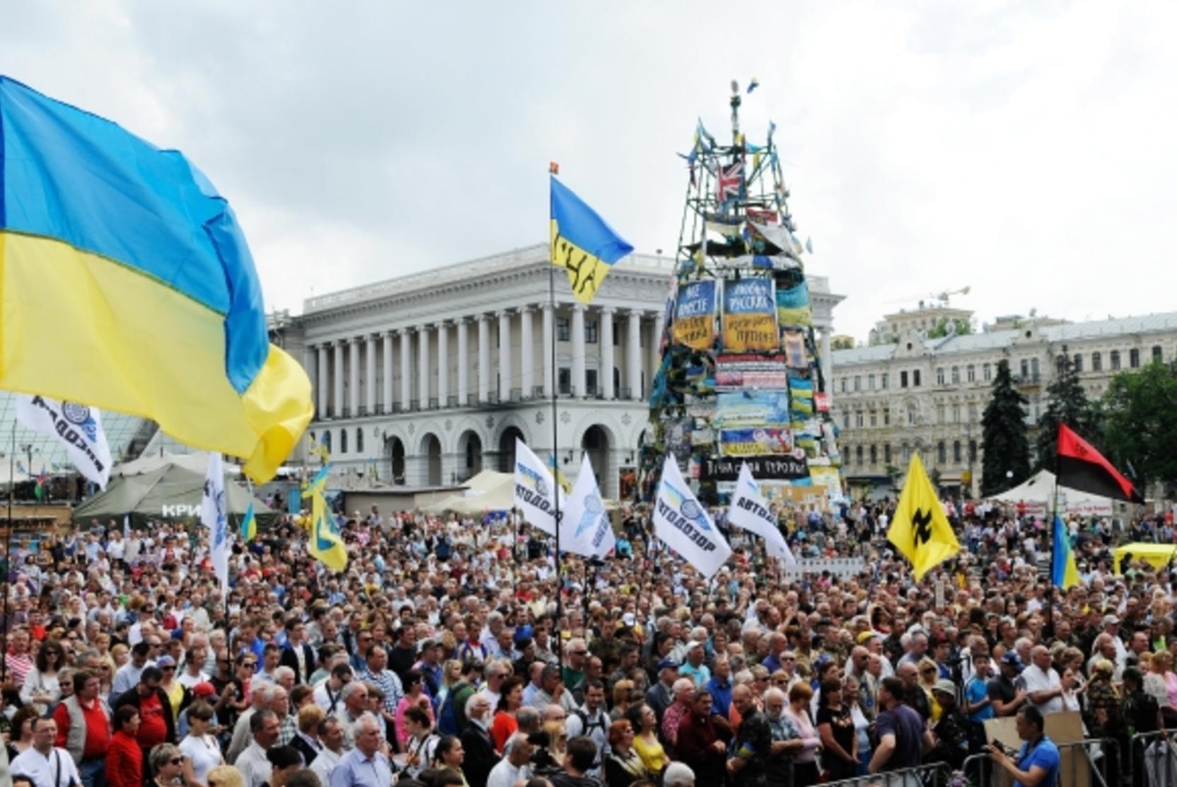 Украинская оппозиция призвала переоценить итоги майдана после беспорядков в Капитолии США